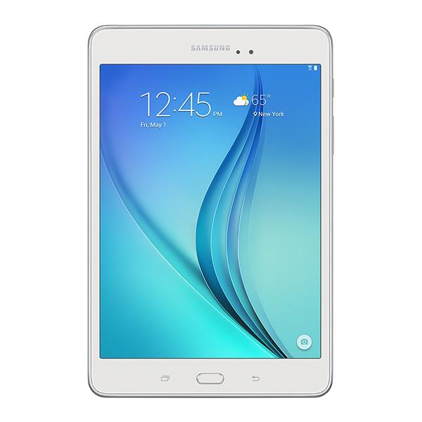 "Samsung Galaxy Tab<sup>®</sup> A 8.0"" 16GB (Wi-Fi), White"