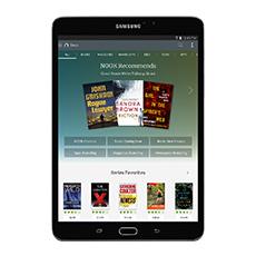 "Samsung Galaxy Tab S2 NOOK 8.0"" 32GB (Wi-Fi), Black"