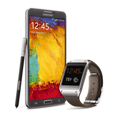Samsung Galaxy Gear™ Mocha Gray