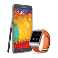 Samsung Galaxy Gear™ Wild Orange