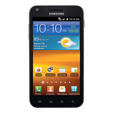 Samsung Galaxy S® II, available at Sprint (Black)