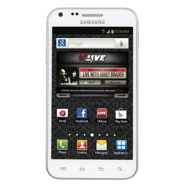 Samsung Galaxy S II 4G (Virgin Mobile), White
