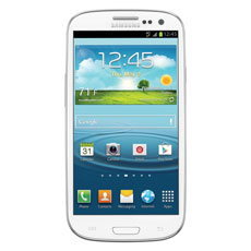 Samsung Galaxy S® III (Boost Mobile), Marble White