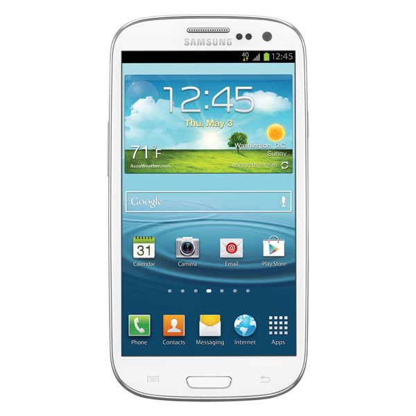 Samsung Galaxy S III (Boost Mobile), Marble White