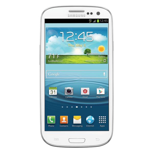 Samsung Galaxy S III (Virgin Mobile), Marble White