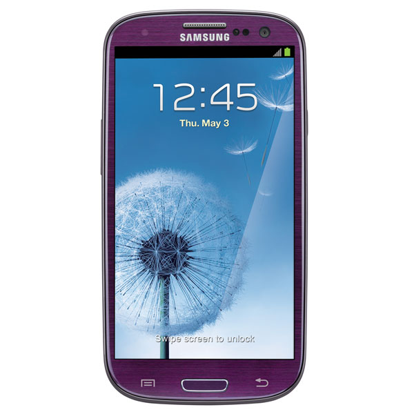 Samsung Galaxy S III (Sprint), Amethyst Purple