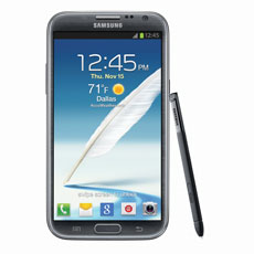 Samsung Galaxy Note® II (Sprint), Titanium Gray