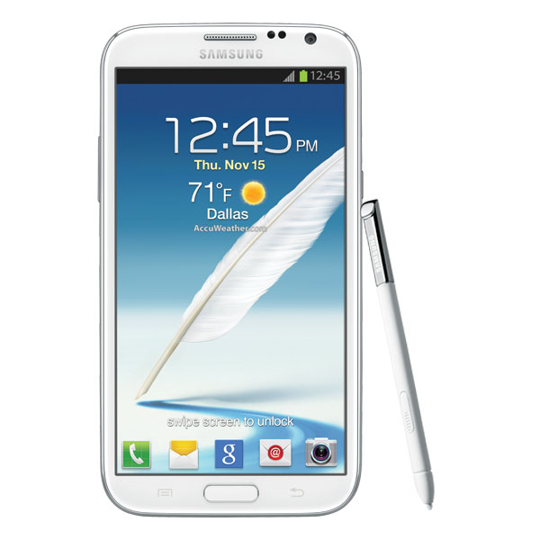 Samsung Galaxy Note II (Sprint), Marble White