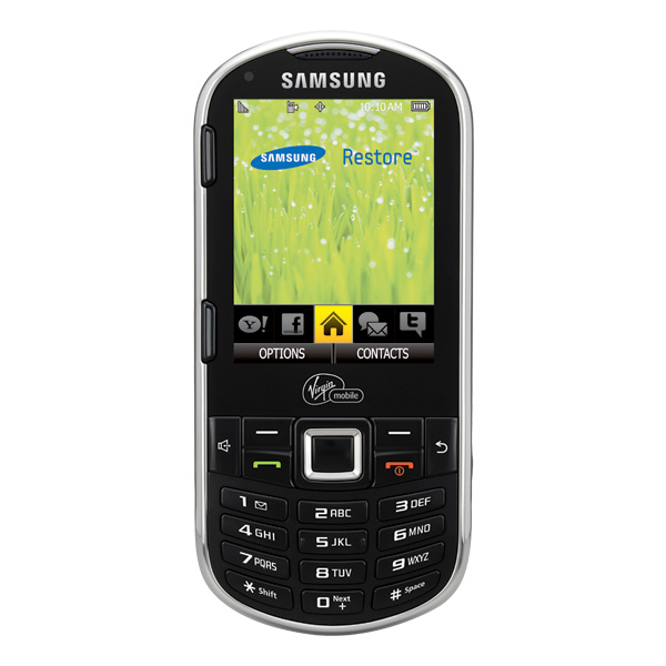 Samsung Restore ( PayLo) QWERTY Cell Phone