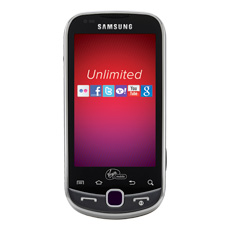 Samsung Intercept™ (Virgin Mobile) QWERTY Cell Phone