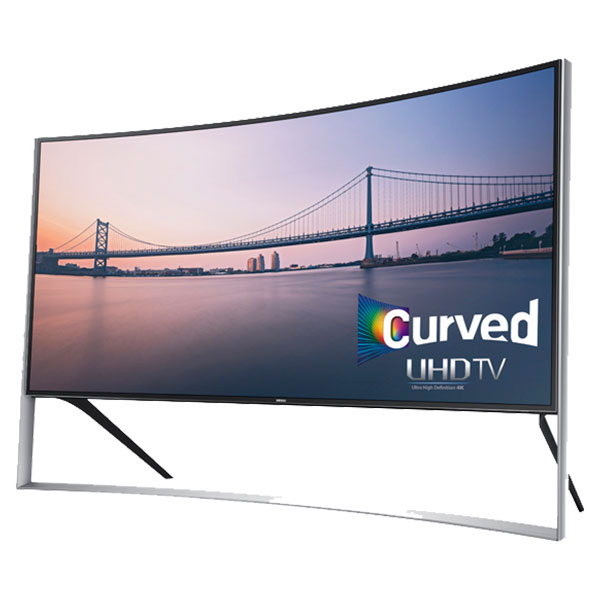 "Samsung 105"" curved ULTRA HD 4K TV"