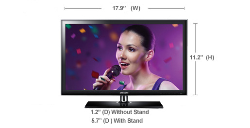 Samsung UN19D4000ND LED TV 64 Bit
