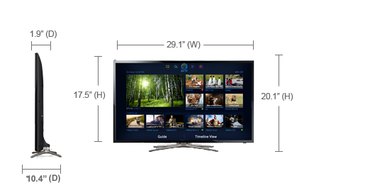 SAMSUNG UN46F5000AF LED TV DRIVERS FOR WINDOWS 10