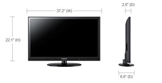 TVs Specs - LED TV UN40D5003BF | Samsung