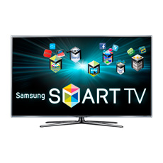 Smart TV with Web-Connected Samsung Apps & Web Browser