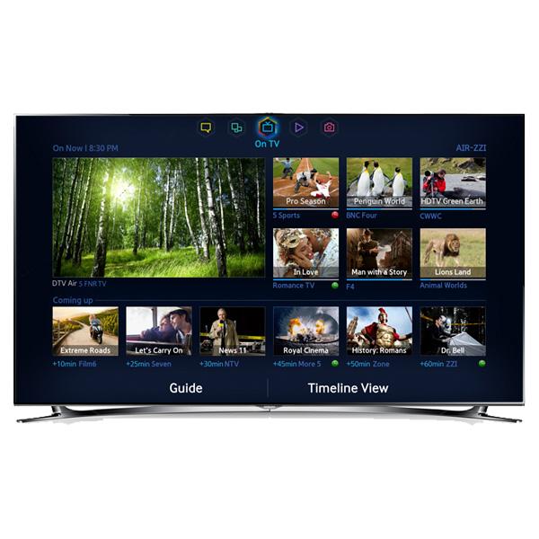 "LED F8000 Series Smart TV - 55"" Class (54.6"" Diag.)"