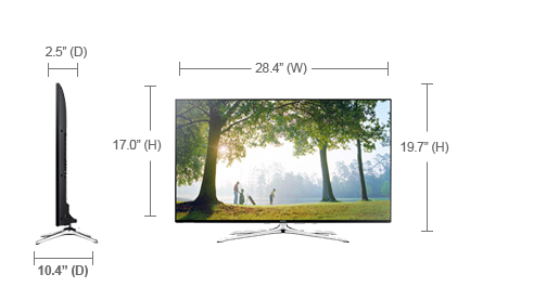 Samsung UN55H6350AF LED TV Windows 7 64-BIT