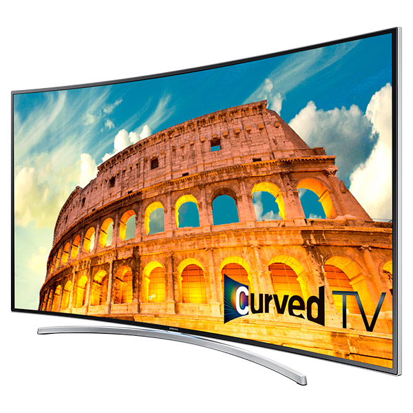 "LED H8000 Series Curved Smart TV - 55"" Class (54.6"" Diag.)"