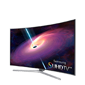 "4K SUHD JS9000 Series Curved Smart TV - 55"" Class (54.6"" Diag.)"