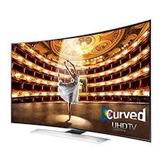 "UHD 4K HU9000 Series Curved Smart TV - 65"" Class (64.5"" Diag.)"