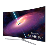 "4K SUHD JS9000 Series Curved Smart TV - 65"" Class (64.5"" Diag.)"