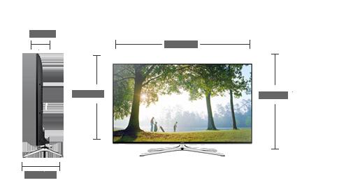 Samsung UN75H6350AF LED TV New