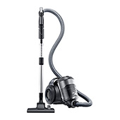 VC-F700G Motion Sync Bagless Canister Vacuum with Built-In Accessories (Titanium Silver)