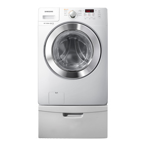 front load washer with pure wash