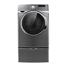 4.0 cu. ft. VRT™, Steam and PowerFoam™ Front Load Washer (Stainless Platinum)
