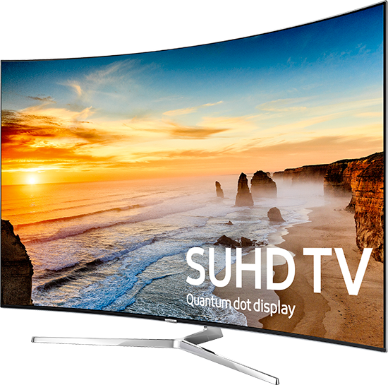 Samsung 4K SUHD TVs with Quantum Dot Color