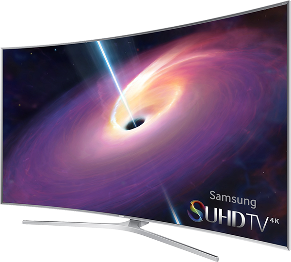 SAMSUNG 4K SUHD JS9500 CURVED SMART TV
