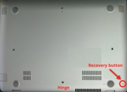 black screen chromebook recovery