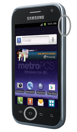 Metro PCS: How do I take Screenshots on my MetroPCS Samsung Galaxy