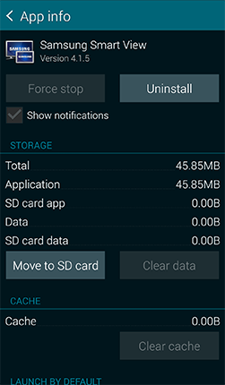 How do I move apps to an SD card in my Samsung Galaxy Mega